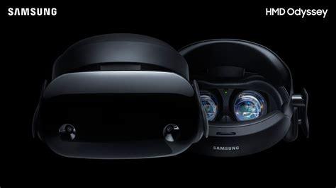 Samsung Odyssey Samsung Hmd Odyssey The Ultimate Windows Mixed Reality Experience Samsung Us Newsroom