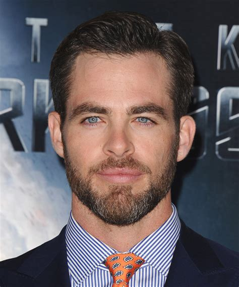 Chris Pine Hairstyle by Chris Pine Formal Hairstyle