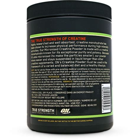 creatine facts optimum nutrition creatine dosage nutrition ftempo