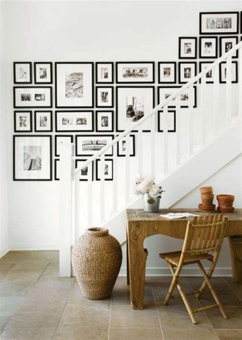 Fotowand Im Flur Gestalten by 55 Ausgefallene Bilderwand Und Fotowand Ideen Archzine Net