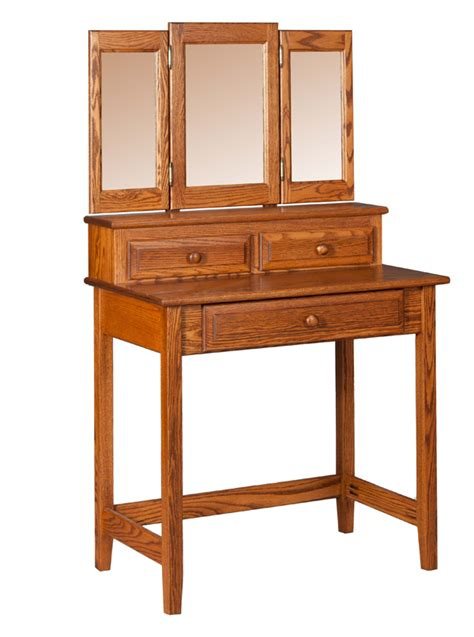 bedroom vanity table with drawers vanity table w drawers mirror mirrors amish