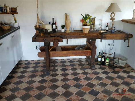 schachbrett küchenboden individuelle terracotta fliesen nach ihren w 252 nschen