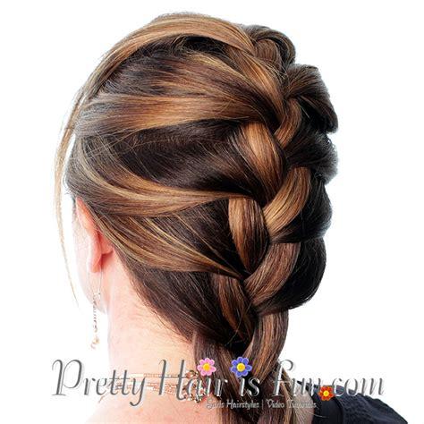 self do braid styles self braiding self side braid pinned by sophia