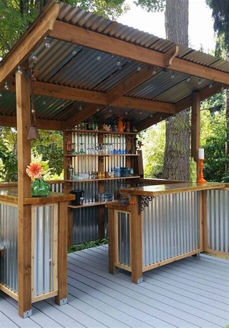 backyard bars youll   build immediately homes