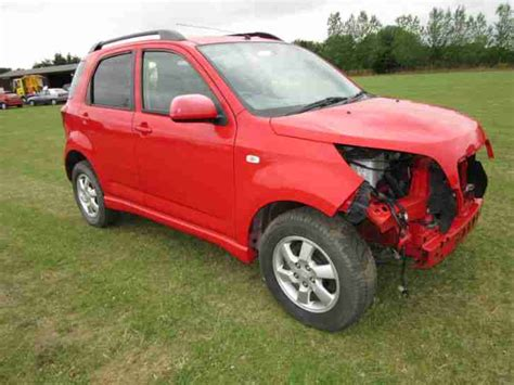 Daihatsu Terios 2007 daihatsu terios 2007 spares or repairs car for sale