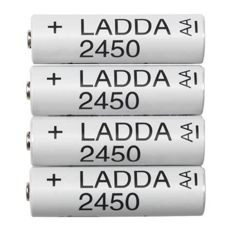 Ikea Ladda Baterai Rechargeable 2450 Mah Hr6 Aa 12v Set Isi T0210 ladda pile rechargeable ikea