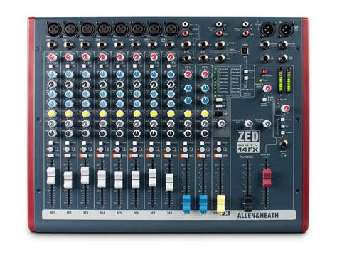 Mixer Allen Heath Zed 12 Fx allen heath zed 60 14fx stereo live recording mixer with