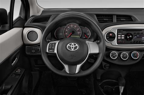 2014 Toyota Yaris Steering Wheel Interior Photo