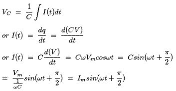power of a capacitor equation electric power single and three phase power active reactive apparent electrical4u