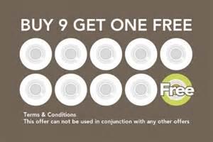 Coffee Loyalty Card Template by Coffee Reward Cards Design