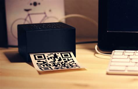 Printer Qr Code qr code printer on behance