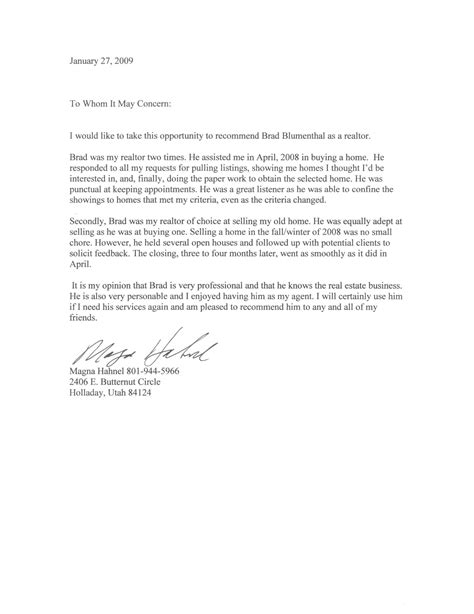 personal friend reference letter of recommendation sle