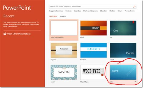 powerpoint add template quickstart microsoft powerpoint 2013 tutorials