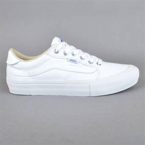 vans style 112 skate shoes white white vans from