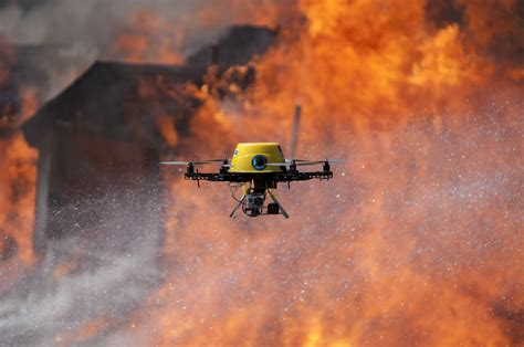 Fire Fighting Drone   how drones are becoming essential to emergency services