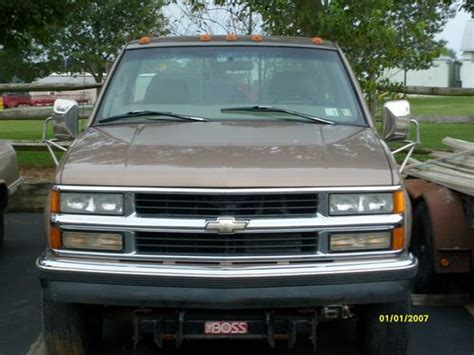 how does a cars engine work 1997 chevrolet s10 navigation system find used 1997 chevy 3500 4x4 454 motor automatic body nice with boss plow needs work in