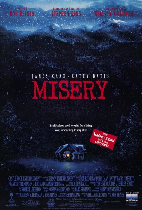 rob reiner stephen king the bloody pit of horror misery 1990