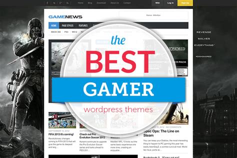 best themes video games 35 best wordpress gaming themes 2018