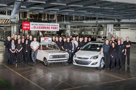 Cars Ellesmere Port by Vauxhall Celebrates 50 Years At Ellesmere Port Smmt