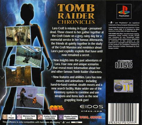 Home Design Ios Cheats by Tomb Raider Chronicles Box Shot For Playstation Gamefaqs