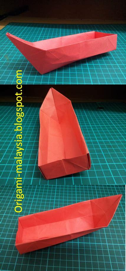 Origami Perahu Boat - kertas oh kertas origami san boat