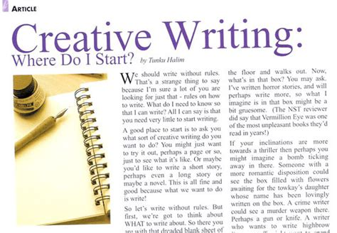 How To Write A Creative Essay by St Joseph Hospital Creative Writing