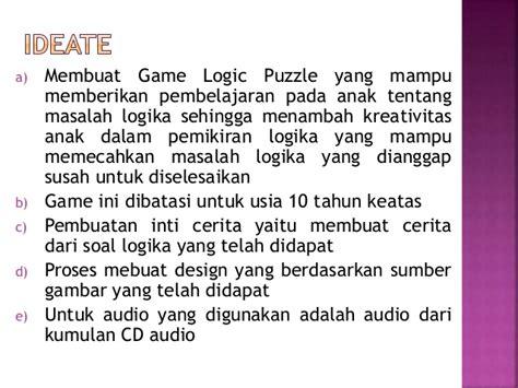 membuat game logika design thinking game logic puzzle