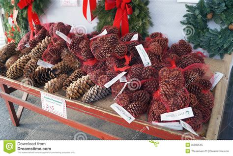 whole foods market wreaths for sale pine cones on sale for stock image image 35899545