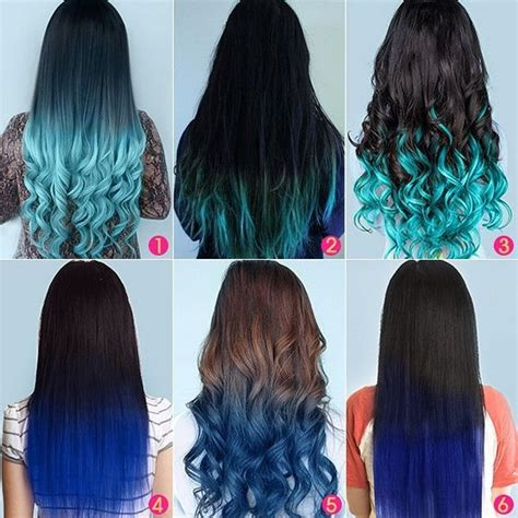 hair with colored tips best 25 blue tips ideas on blue tips hair