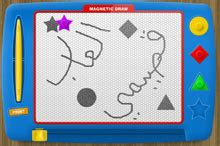 doodle oyna magnetic draw a drawing