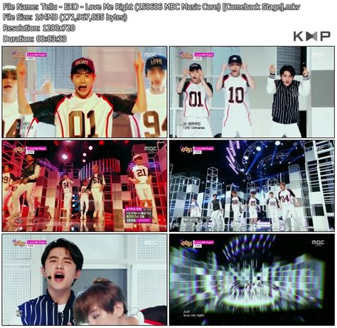 download mp3 exo love me right k2nblog download perf exo love me right mbc music core