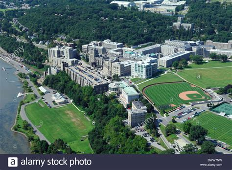Garden City Ny Marine Base Aerial View Of United States Academy Buildings Of