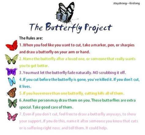 64 best images about butterfly project on Pinterest   Self harm, Butterfly mobile and Butterfly