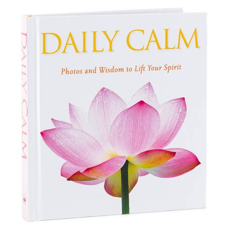inspirational gifts from the books daily calm gift book inspirational books hallmark