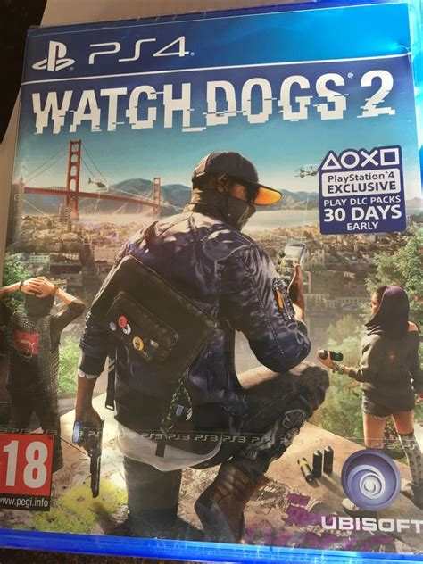Kaset Ps4 Dogs 2 What S Going On With The Ps3 Tear On Dogs 2 S Ps4 Packaging Videogamer