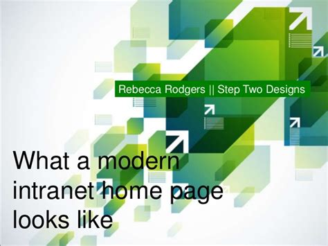 homepage design tips what a modern intranet home page looks like