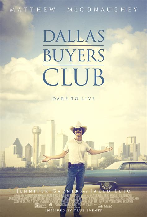 film cowboy hiv new poster 2 clips from dallas buyers club we are