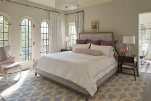 beautiful Floor To Ceiling Windows Curtains #7: Wonderful-Ceramic-White-Owl-Lamp-Decorating-Ideas-Gallery-in-Bedroom-Transitional-design-ideas-.jpg