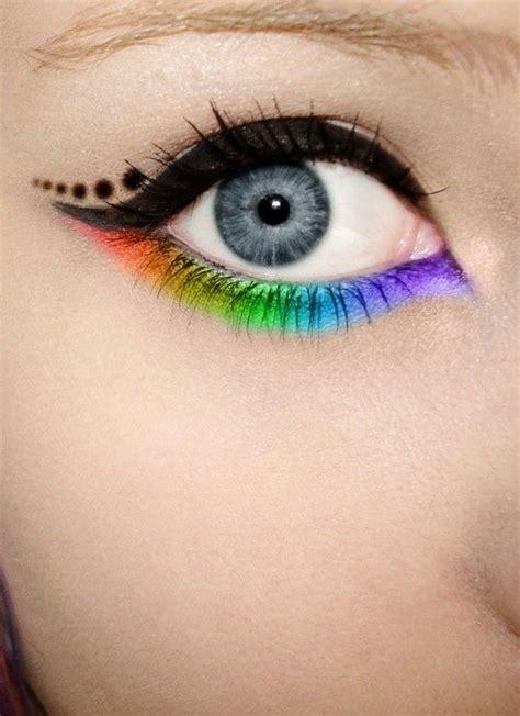 eyeliner tutorial waterline color on top and black on waterline make up