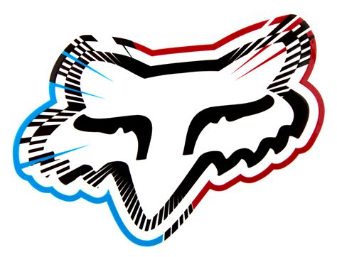 fox motocross logo fox racing logo red
