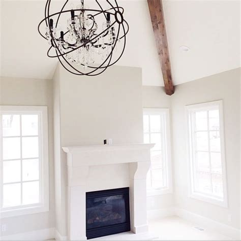 White Dove Ceiling by Dove White Trim And Ashwood For Walls Both By Benjamin