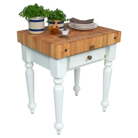 Island Tables For Kitchen by Boos Rustica Butcher Block Kitchen Island Table
