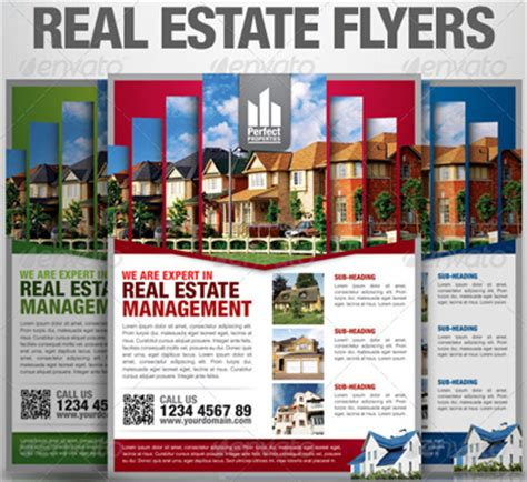 15 real estate flyer templates for marketing caigns