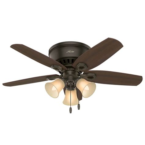 42 inch bronze ceiling fan with light 42 inch fan builder low profile ceiling fan with