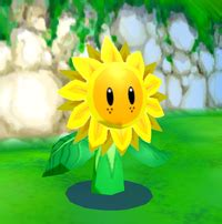 sunflower kid super mario wiki  mario encyclopedia