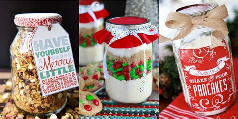 22 mason jar christmas food gifts recipes for gifts in a