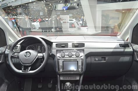 volkswagen caddy 2016 interior 2015 vw caddy 2015 geneva live