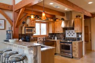 A Frame Kitchen Ideas Weekend Retreat Timber Frame Home Traditional