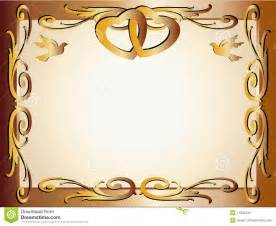 Wedding anniversary border invitation stock photos image 11538433