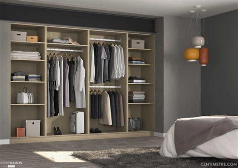 placard de rangement pour chambre placard dressing sur mesure centimetre com c 244 t 233 maison
